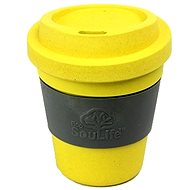Biodegradable Cup with wrap citrus