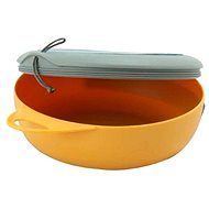 Sea to Summit, Delta-Bowl with Lid Orange / Grey