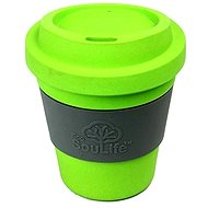 Biodegradable Cup with wrap lime