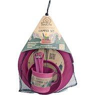Eco SouLife Biodegradable Camper set pink
