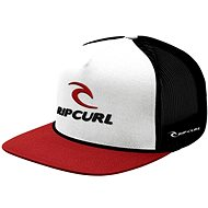 Rip Curl Rip Team Trucker Cap Flat Red Tu
