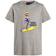 Rip Curl Mixed Arty SS Tee Cement Marle velikost 16 - Tričko