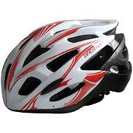 Acra cyklo white L - Helma na kolo