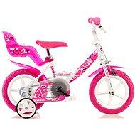 Dino Bikes 12 pink (2016) - Dětské kolo