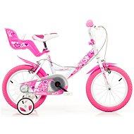 Dino Bikes 16 pink