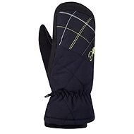 Hannah Mitten Anthracite / green macaw M