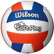 Wilson Super Soft Play Volleyball Red white blue