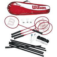 Wilson Tour Badminton Steel Poles - Badmintonový set