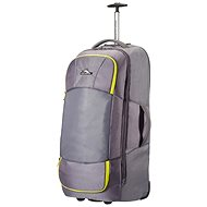 High Sierra Duffle on wheels M Grey/Citrus yellow 80