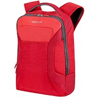 """American Tourister Road Quest Laptop Backpack 15.6 """"Solid Red 1819"""