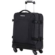 American Tourister Road Quest Spinner Duffle 55 Solid Black