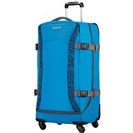 American Tourister Road Quest Spinner Duffle L Bluestar Print - Kufor