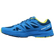 SONIC Salomon AERO Midnight Blue / BL / GECKO GREE UK 11.5