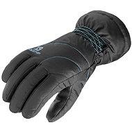 Salomon CRUISE W BLACK/Kouak Blue L - rukavice