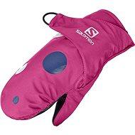 Salomon BABOO MITTEN Gaura Pink S - Gloves