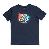 Rip Curl LOGO SLANT SS TEE Mood Indigo 12. März - T-Shirt