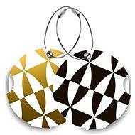 Suitsuit DuoPack Black and Gold - Namensschilder für Gepäck