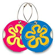 Suitsuit DuoPack Blume - Namensschilder für Gepäck