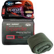 Sea to Summit expander liner Long eucalypt with Pillow