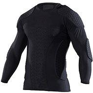 Hext Langarm Torwart Shirt Schwarz XL