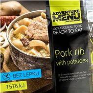 AdventureMenu - Kotelett mit Kartoffeln