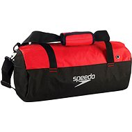 Speedo Duffel Bag black / red