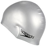 Speedo Silicon moulded cap grey