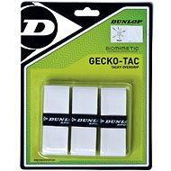 Dunlop Gecko-Tac Overgrip Weiß - Tennis-Griffband