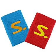 Salming Wristband Short 2pack Red / Blue