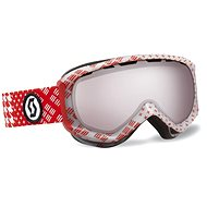 Scott Reply pattern red silver chr - Glasses