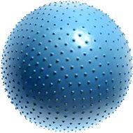 Lifefit - Masážna gymnastická lopta modrá 75 cm