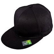 Spalding Fitted Cap Black Flat