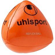 Uhlsport Reflex Ball - fluo red/black/silver - Fotbalový míč