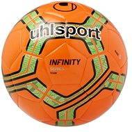 Uhlsport Infinity Team - fluo red/fluo green/black - vel. 5 - Fotbalový míč
