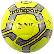 Uhlsport Infinity Team - fluo yellow/silver/navy/fluo orange - vel. 4 - Fotbalový míč
