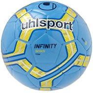 Uhlsport Infinity Team - cyan/fluo yellow/navy - vel. 3 - Míč