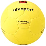 Uhlsport Themis Indoor - yellow / black / red - vel. 5 - Lopta