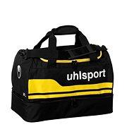 Uhlsport Basic Line 2.0 Players Bag - black/corn yellow 30 L - Sportovní taška