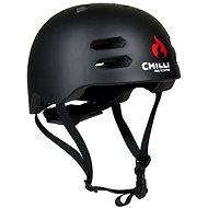 Chilli Inmold-Helm schwarz S