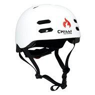 Chilli Inmold white helmet S