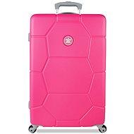 Suitsuit TR-1227/3-M ABS Caretta Shocking Pink - Cestovní kufr