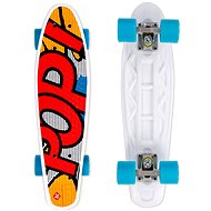 Street Surfing Board Souper Pop Pops Yellow