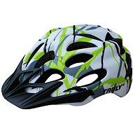 Cyklo helma TRULY FREEDOM white print