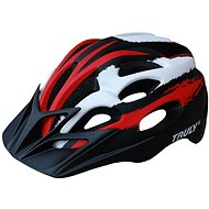 Cyklo helma TRULY FREEDOM red/black/white