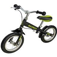 """Sulov Rapido 12"""" black - Balance Bike"""