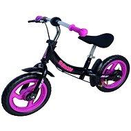 """Sulov Signora 12"""" black-purple - Balance Bike"""