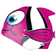 RYBKA pink swimming cap