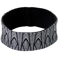 Prana Reversible Headband Black Feather