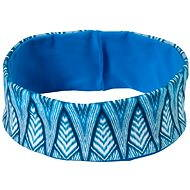 Prana Reversible Headband Blue Feather