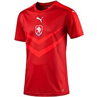 Puma Czech Republic Home B2B Shirt chili pepper 128
